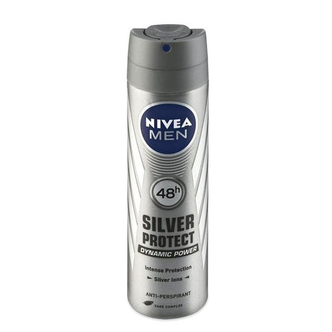 Nivea Body Spray Silver Protect For Men