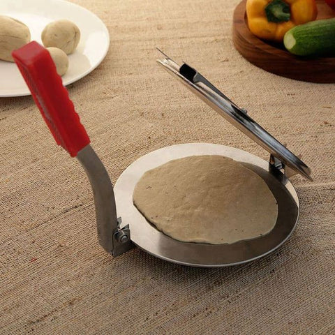 Kitchen king Roti Maker - Red and Silver (RM-007)