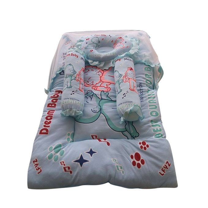 Multi Color Complete Soft Bed For Babies(SB-05)