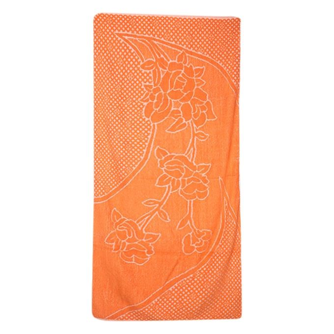 Thistle Orange Cotton Baby Towel(Bc-13)
