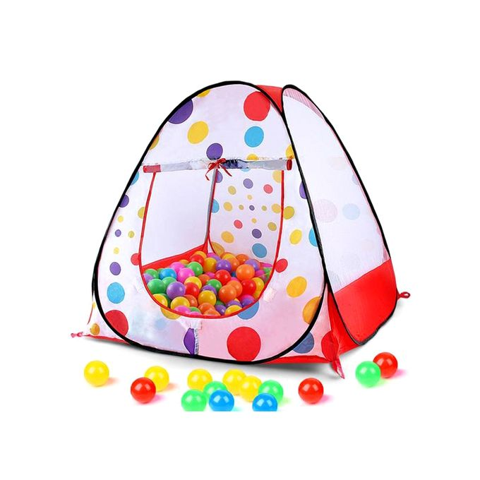 Baby Goods Tent Play House - White and Red(TG-019)