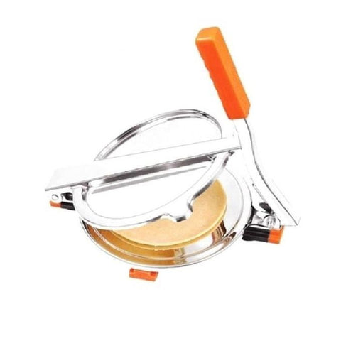 My Kitchen Stainless Steel Roti Maker/Puri Press – Silver (RM-009)