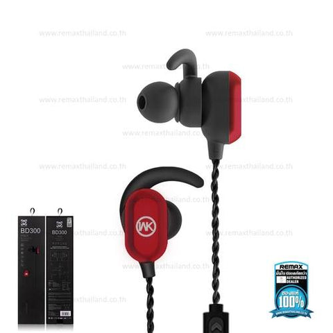 WK BD300 Magnet Bluetooth Headset(GA-04)