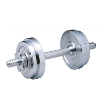 Body Coach Chrome Dumbbell Set – 10kg (FE-0007)