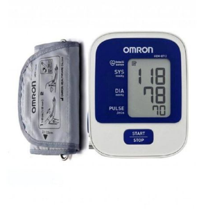 Omron Blood Pressure Monitor - White and Blue (GA-40)