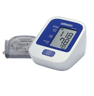 Omron Digital Blood Pressure Monitor - HEM-8712 - White & Blue (GA-41)
