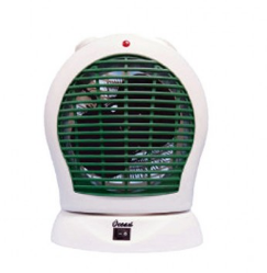 Ocean OFH09G Room Heater Moving (Fan) - White and Green(RH-008)