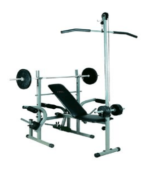 Evertop 307A Weight Bench - Black (FE-0008)