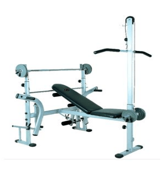 Evertop 309A Weight Bench - Black and Wh (FE-0010)