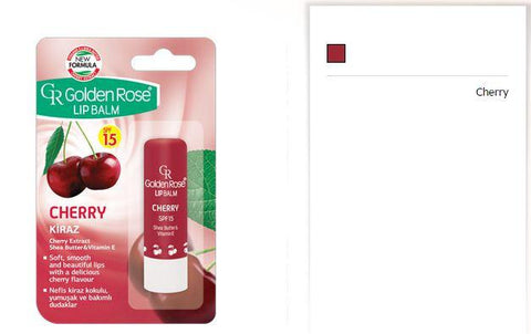 Golden Rose Lip Balm Cherry Spf 15