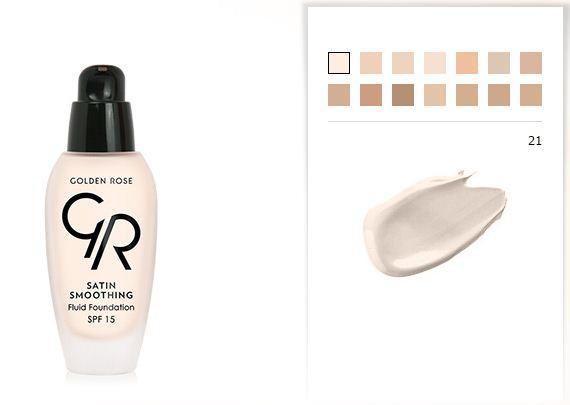 Satin Smoothing Fluid Foundation (SPF15)
