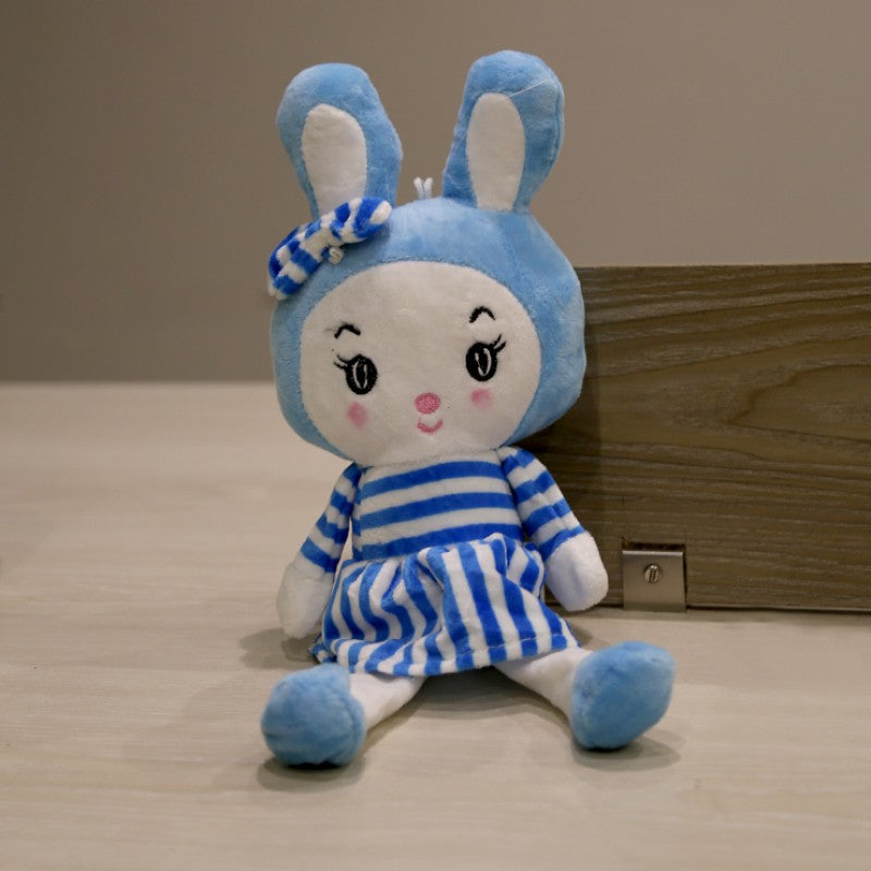 Blue Baby Girl Stuffed Toy (GF-001)