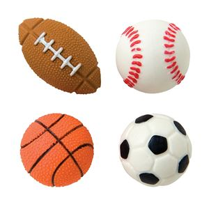 Sports Ball Erasers, Assortment
