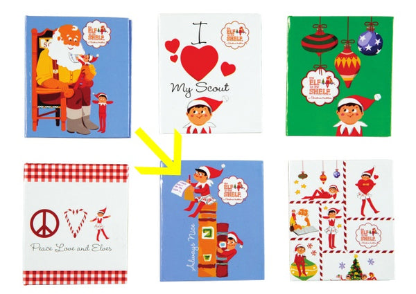 "The Elf on the Shelf® Little Notebook,  2.5"" x 3"", 80 Pages"