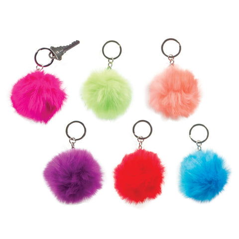 Pufferball Keychain, Variety of Colors