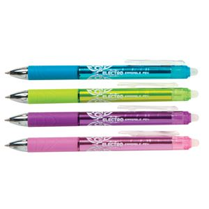Electro Erasable Pen - Choose Blue, Green, Purple or Pink