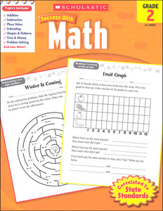 Scholastic Success with MATH Grade 2 Activity Book (SC-520070)