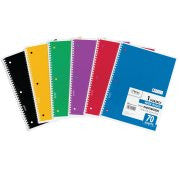 Mead® Spiral® Notebook- 1 Sub 70ct WR (05510)