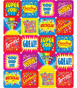 Carson Dellosa Motivational Stickers, 120 Pack, Choose Theme
