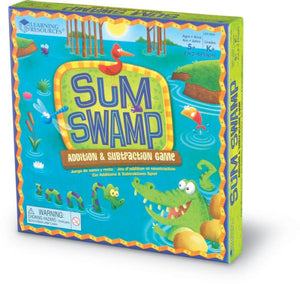 Learning Resources Sum Swamp Addition & Subtraction Game (LER 5052)