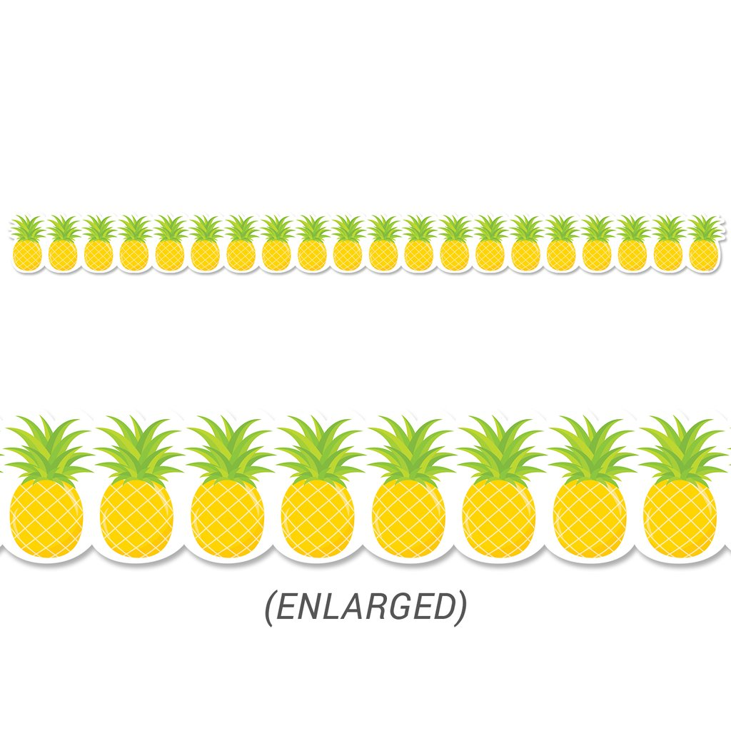 Creative Teaching Palm Paradise Pineapples Border (10217)