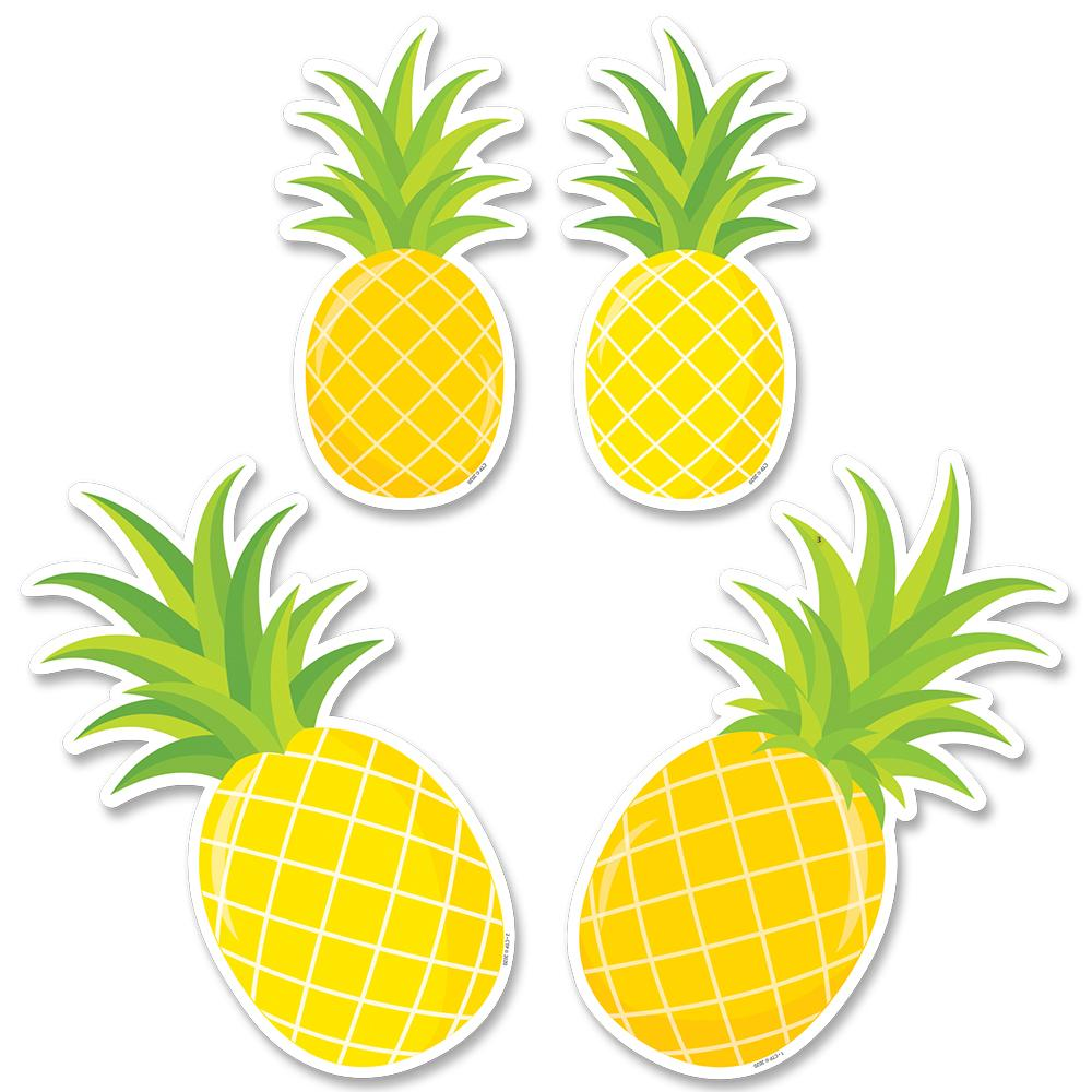 "Creative Teaching Press Palm Paradise Pineapple Party 6"" Designer Cut-Outs (10226)"