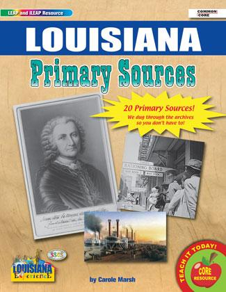 Gallopade Louisiana Primary Sources, Historical Documents, Maps, Photos