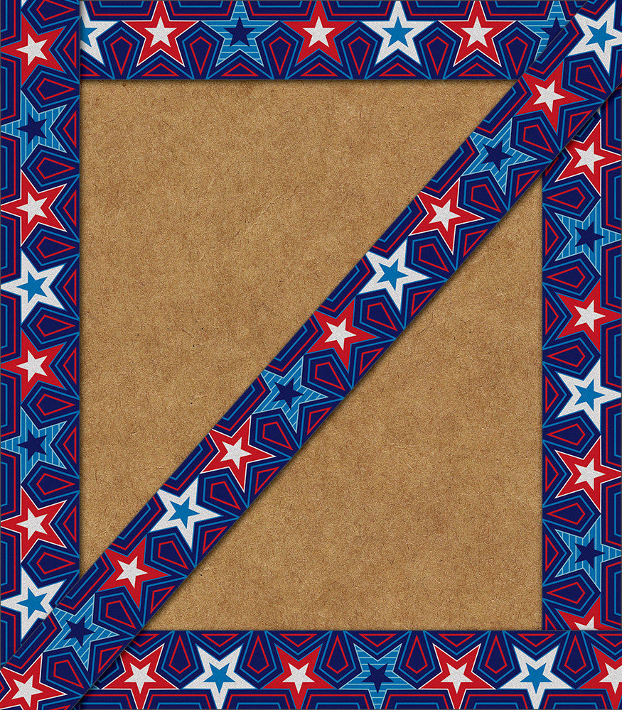 Star Spangled Straight Boarders, 12 pieces (CD - 108284)