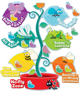 "Carson Dellosa ""Buggy"" for Bugs Behavior Bulletin Board Set  CD-110239"