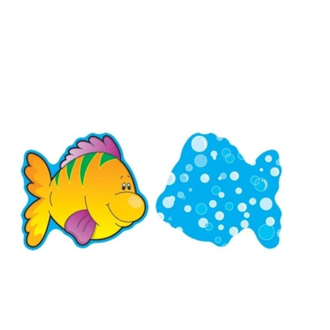 Carson Dellosa Colorful Fish Mini Cutouts, 36 Pieces (CD-120016)