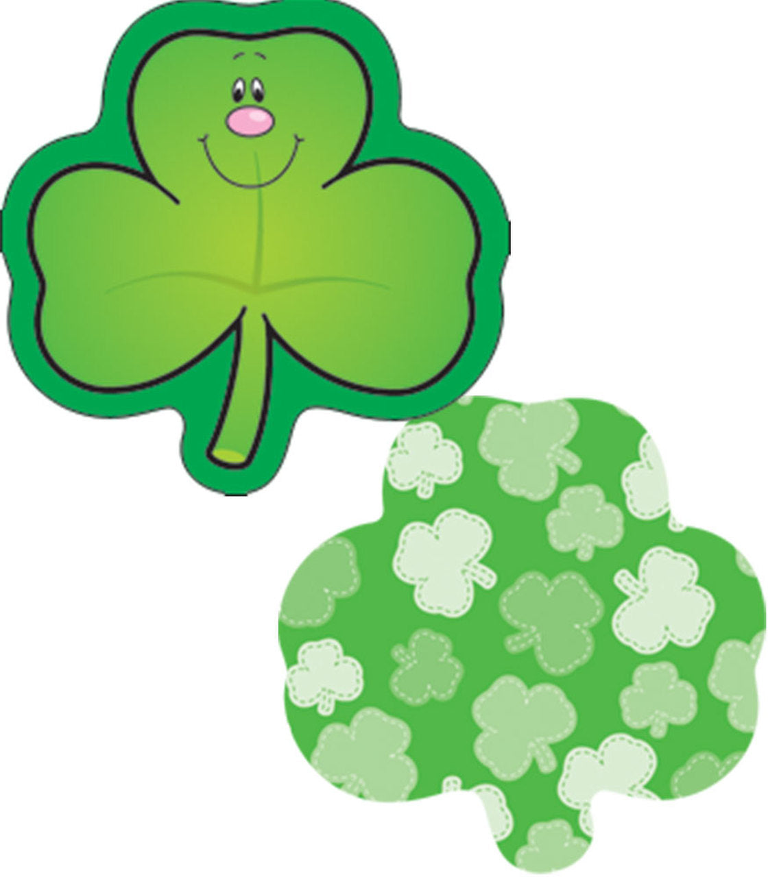 Carson Dellosa Shamrock Mini Cutouts  36 2-sided Shamrocks (CD-120031)