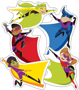 Super Power Super Kids Cut-Outs (120185)