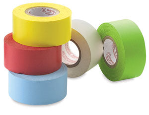 "Traditional Mavalus Tape, 1""x 324"", Red, Blue, Green, Yellow, White"