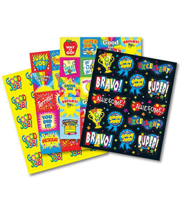 Motivational Sticker Variety Pack of 222 Stickers (CD - 168095)