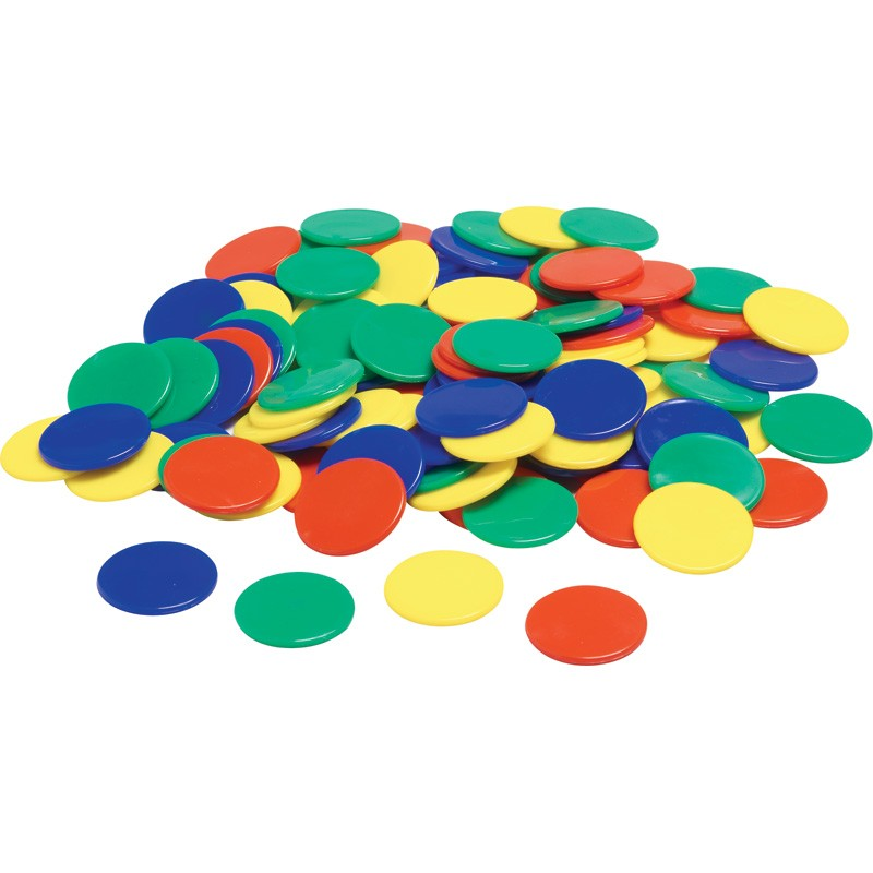 Color Counters, 100 Pack
