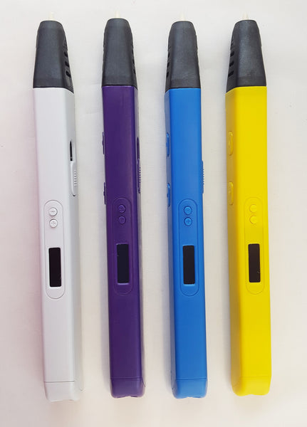 RP800A 3D Printing Pen w/OLED Screen incl 3 Filaments (30 ft)