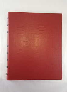 Rediform Miraclebind Notebook, Red, 9.25 x7.25 Inches, 150 Pages (AF9150.83)