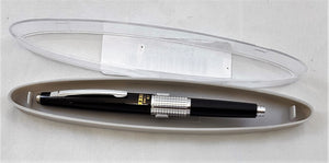Pentel Sharp Kerry Mechanical Pencil, 0.70 mm, Metallic Black Barrel, P1037A