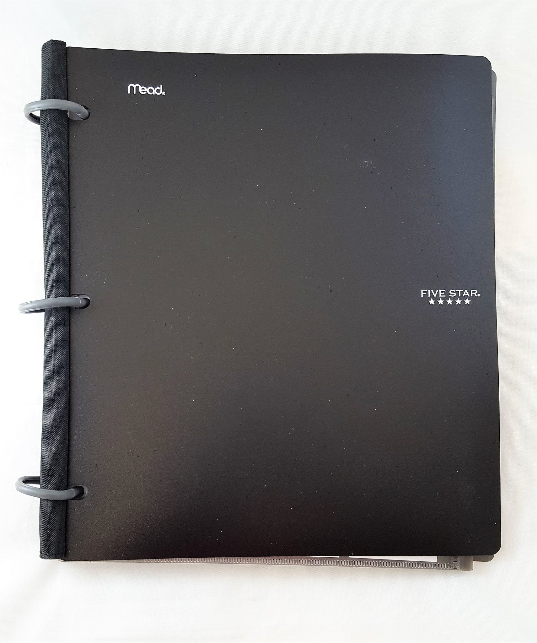 "Five Star Flex Hybrid 1"" NoteBinder, 11.5 x 10.75, Black (72009)"