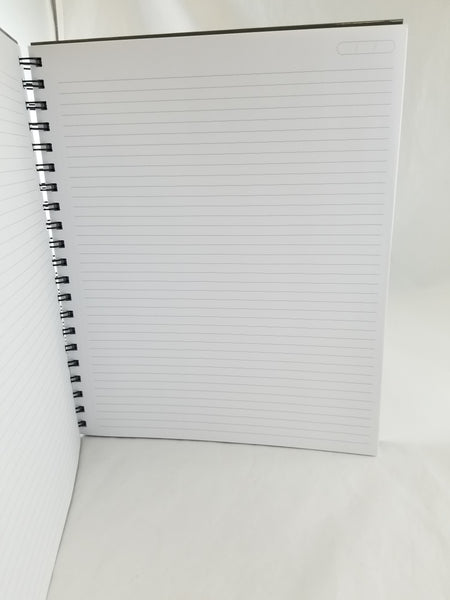 "Cambridge Business Notebook, Hardcover, Perforated Pages, 80 Sheets, 8-3/8"" x 10-3/4"", Gray"