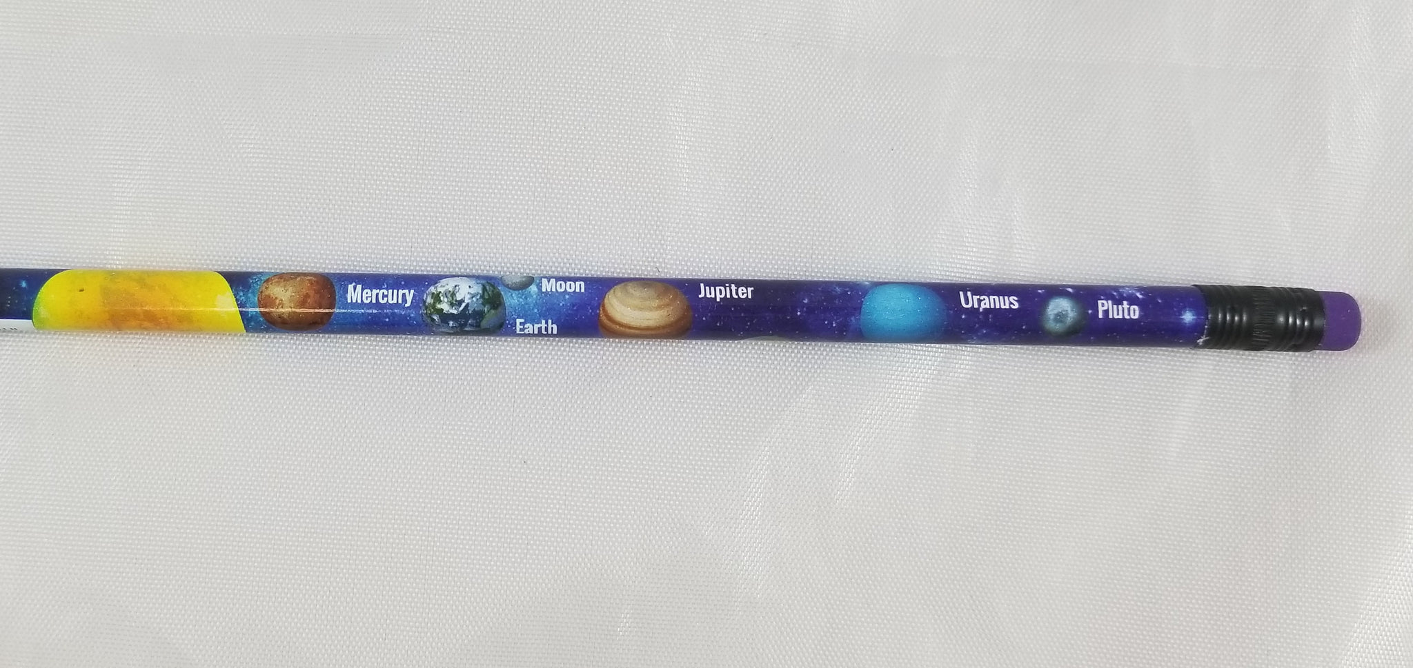 Moon's Designer #2 Wood Pencil OUR SOLAR SYSTEM