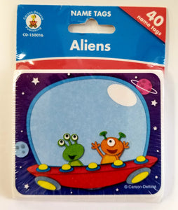 Carson Dellosa Aliens Nametags, Set of 40  CD-150016