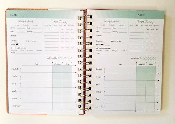 At-A-Glance Inkwell Fitness 12 Week Planner (IP619-601)