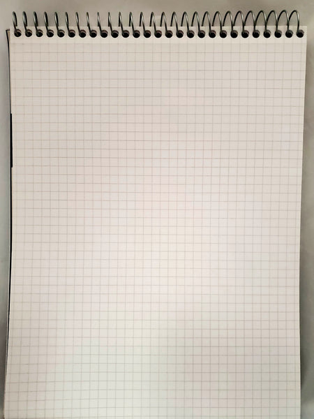 Five Star Graph Ruled Top Spiral Notebook 4sq/in 100 Sheets (11071)