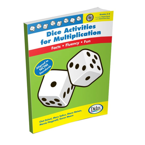 Didax Dice Activities for Multiplication Book Grades 3-6 (10907)