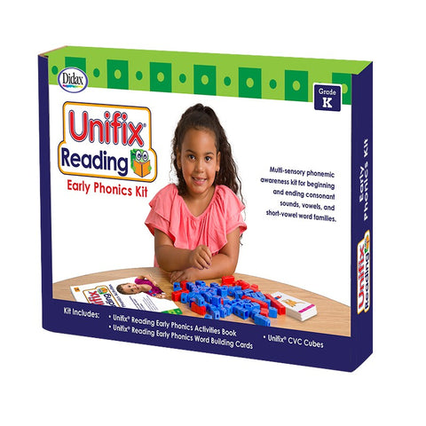Didax Unifix Early Reading: Phonics Kit, Kindergarten (211277)