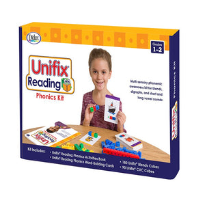 Didax Unifix Reading: Phonics Kit, Grades 1-2 (211278)