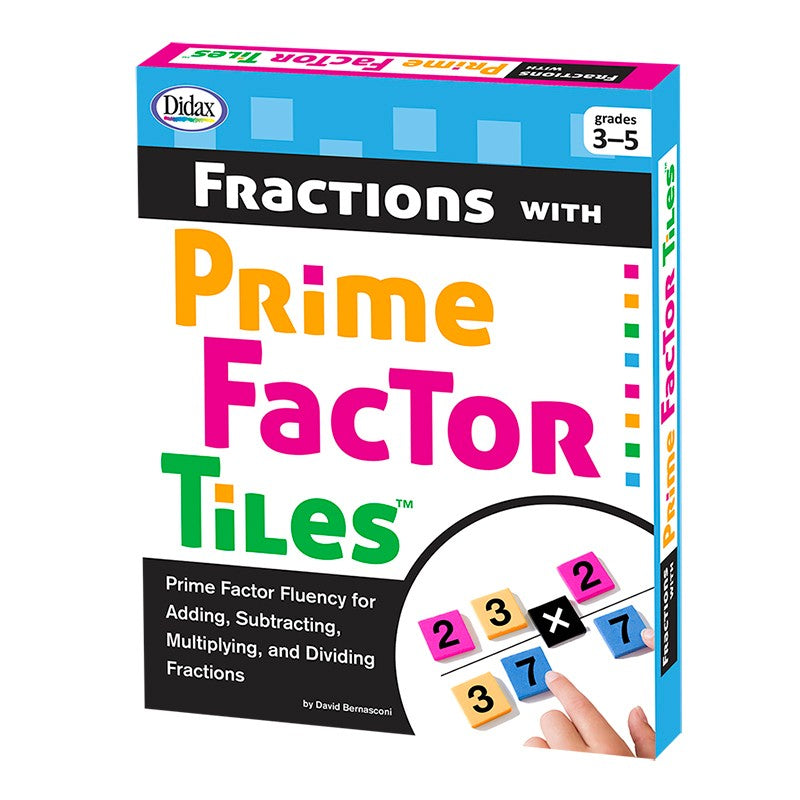 Didax Fractions with Prime Factor Tiles (211282)