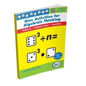 Didax Dice Activities for Algebraic Thinking Grades 5-8 (11396)