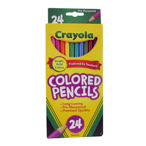 Crayola Colored Pencils, 24 Count